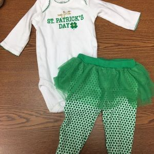 Girl's St. Patrick's Day Outfit